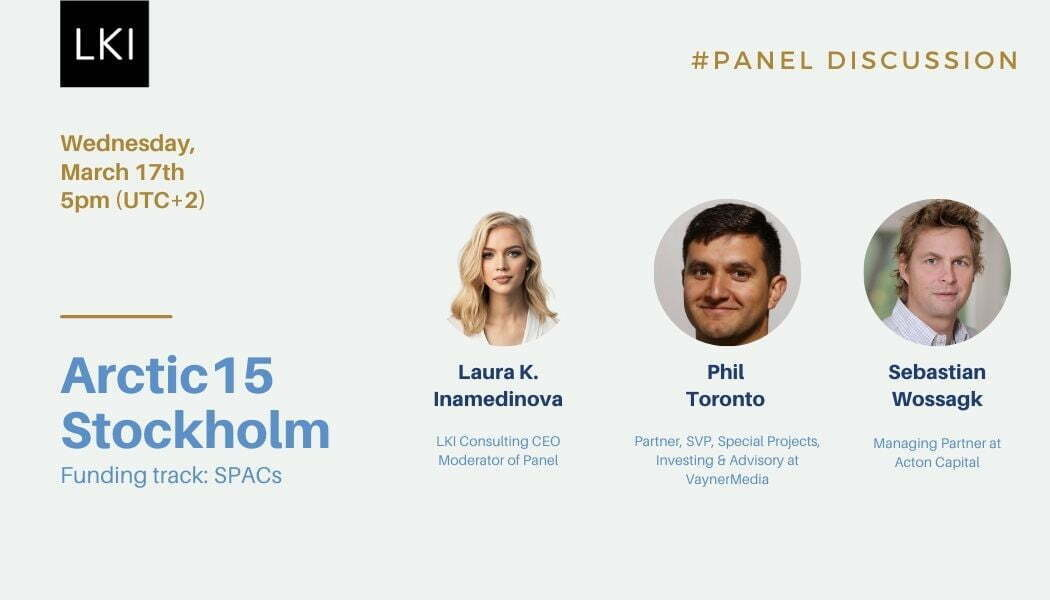 LKI Consulting founder, Laura K. Inamedinova, was invited to host a panel in The Arctic15 Stockholm Online event